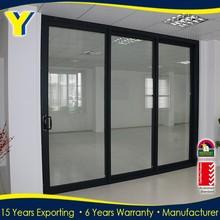 Aluminium and Glass Interior Door Double Glazed Aluminium Windows And Doors Comply with Australian Standards AS2047 AS2208