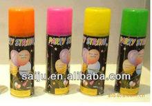 250ml aerosol party colored foam Snow Spray for glass