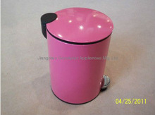 5L Red Garbage Can