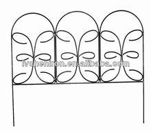 Jasmine Classic Decorative Steel Landscape Border Fence Section