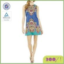sublimation print latest dress design photos clothes womens dresses ladies casual dress pictures