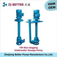 YW Long Shaft Underwater Sewage Pump