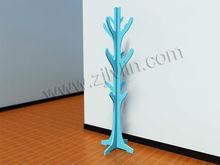 glossy MDF coat tree,coat stand, hat stand, wooden coat&hat hanger in bedroom