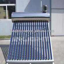 Pressurized Pre-heat Solar Boiler with Copper Coil