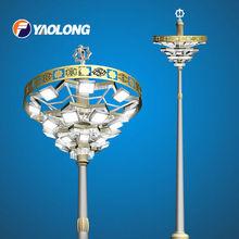 Stainless steel high lighting poles