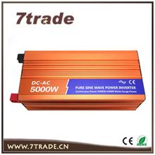 24V 220V multifunction solar panel inverters 5000W