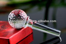 crystal wine bottle stopper