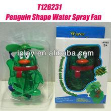 Penguin Shape Water Spray Fan,water mist fan