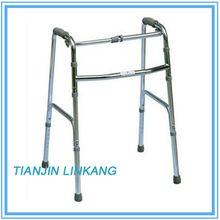 folding aluminum walker