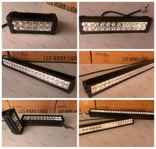 ShengWell Auto 36w 72w 120w 180w 240w 300w 9--32V 12month warranty IP67 led bar light Epistar led Light Bar