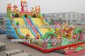 Baratos comercial corrediça inflável gigante, corrediça inflável salto para venda