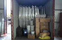 Insulated Box Truck Body, CKD truck body,box van