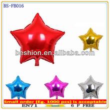 Foil balloon stores