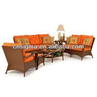 2015 Best Design Indoor bamboo rattan wicker furniture