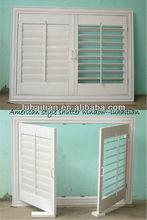 American style ventilation blinds,vinyl adjustable shutter