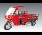 semi closed cabin cargo tricycle/triciclo