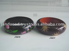 Hand Painted Wooden Bangle patterns can be as per buyers request