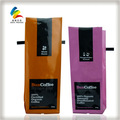 Embalagensplásticas saco de café com amarrá-lata e válvula unidirecional