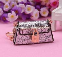 Flower bag keychain WHOLEALE JEWELRY FASHION ORNAMENT ACCESSORY