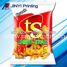 Multilayper printing bags retails for puff food packaging