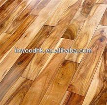 Solid small leaf and large leaf Acacia(Asian Walnut) Hardwood Flooring