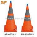 Ab-a70su-1, Ab-a55su-1 Solar ampliable cono