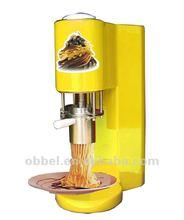 CE italian gelato spaghetti ice cream maker