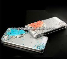 Handmade 3D Bling Bling crystal Case for i Phone 4/4s, Butterfly design