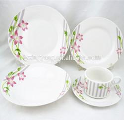 20/30pcs round china dinner sets,porcelain dinner sets , ceramic dinner sets