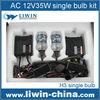 Top Selling AC DC 12V 24V 35W 55W 75W new h4 4300k hid kit for QASHQAI engine automobiles