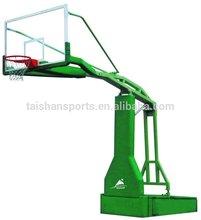 manual hydraulic pressure basketball stand
