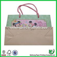 fashional paper party bag paper bags flame retardant
