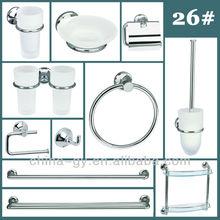 #26 Brass Bathroom Accessories Set