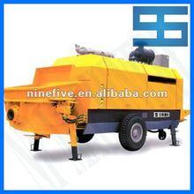 HBT-S-valve series Concrete Trailer Pump with good condition