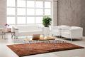 Set sexo de couro de madeira árabe chesterfield sofá do escritório
