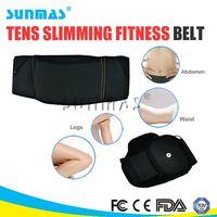 heat arm/body wellness shaper tapping fat reducing electronic massage belt