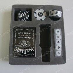 Jack daniels poker chip set