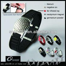 2014 power magnetic negative ion balance golf bracelet