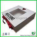 dongguan fabrika promosyon düğün davetiyesi kutuları diy