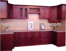 Cherry Wood Kitchen Cabinet
