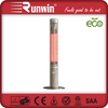 Energy Efficiency 2.4KW Electric Portable Patio Heater with Telescopic Poles
