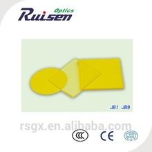 yellow optical glass