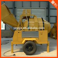 High quality Yanmar engine hydraulic concrete mixer