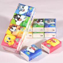 Soft Facial Tissue/Pocket Tissue/Pocket Tissue Handkerchief