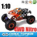 1/10th scala 4wd nitro monster truck alimentato 94188 modellini di auto piccole