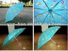 2012 cheap and new fashion auto straight umbrella