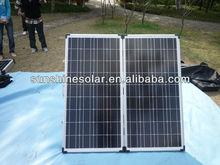 Hot Selling 160w portable folding solar panel kit
