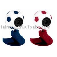 Usb bilgisayar Hiçbir sürücü USB2.0 Futbol Webcamera Dahili mikrofon