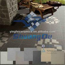 factory supply rustic outdoor non slip porcelain floor tiles 600x600mm 300x600mm 300x300mm