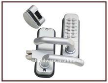 New Design Zinc Alloy Material Digital Mechanical Code Door Lock